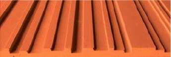 Stonini Corrugated 3D Profile Panels Rounded Contours